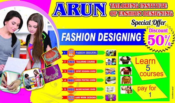 Weekend Fashion Designing Courses In Chennai